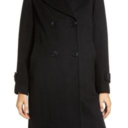 Double Breasted Wool Blend Twill Coat | Nordstrom