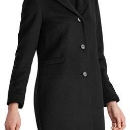 Wool Blend Reefer Coat | Nordstrom
