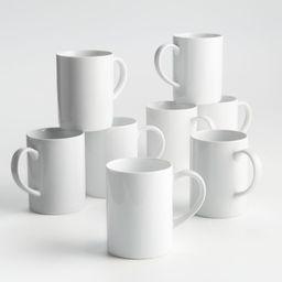 Set of 8 Aspen Mugs + Reviews   Crate and Barrel   Crate & Barrel