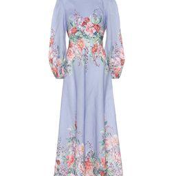 Bellitude floral linen midi dress | Mytheresa (US)