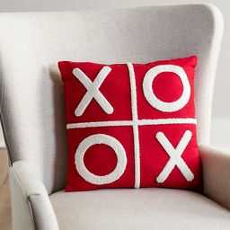 New!Red and White XOXO Pillow | Kirkland's Home