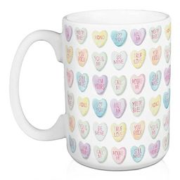 Candy Heart Valentine's Mug   Kirkland's Home