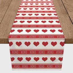 New!XOXO Hearts Table Runner   Kirkland's Home