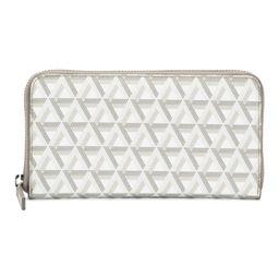 Ikon Large Coated Canvas With Leather Trim Zip Around Wallet | Handbags | Marshalls | Marshalls