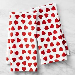 Heart Towels, Set of 2   Williams-Sonoma