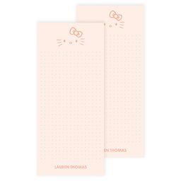 Hello Kitty x Erin Condren Pretty Kitty List Pad 2pk   Erin Condren