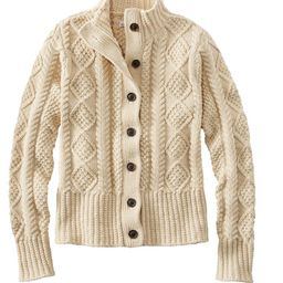 Women's Signature Cotton Fisherman Sweater, Short Cardigan   L.L. Bean
