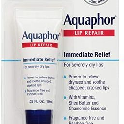 Aquaphor Lip Repair Ointment - Long-Lasting Moisture to Soothe Dry Chapped Lips | Amazon (US)