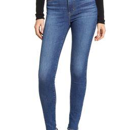 Women's Levi's Mile High Super Skinny Jeans, Size 24 x 30 - Blue | Nordstrom