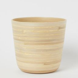 Bamboo Plant Pot   H&M (US)