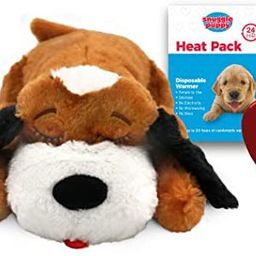 SmartPetLove Snuggle Puppy Heartbeat Stuffed Toy - Pet Anxiety Relief and Calming aid | Amazon (US)