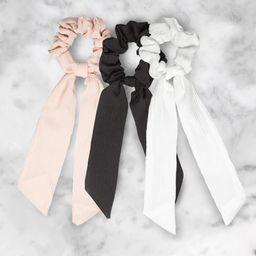 Long Tie Scrunchie | Kerotin
