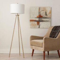 Ellis Tripod Floor Lamp Brass - Project 62™ | Target