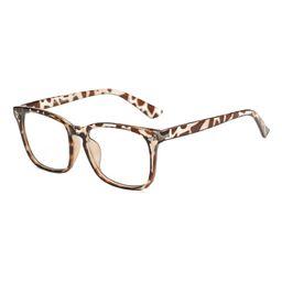 YK Glasses Reading Glasses tortoise - Tortoise Riveted Square Blue Light Glasses - Unisex | Zulily