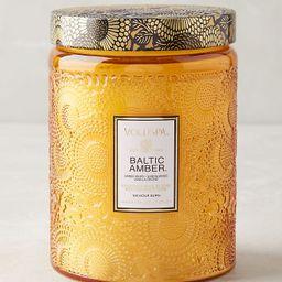 Voluspa Limited Edition Cut Glass Jar Candle | Anthropologie (US)