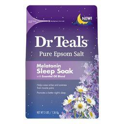 Dr Teal's Pure Epsom Salt, Melatonin Sleep Soak with Essential Oil Blend, 3 lb | Walmart (US)