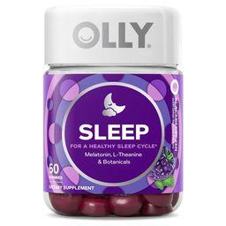 OLLY Sleep Gummy, 3mg Melatonin, L Theanine, Chamomile, Blackberry, 50 Ct   Walmart (US)