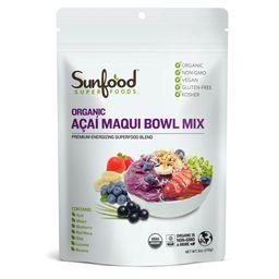 Sunfood superfoods organic acai maqui bowl powder, 6.0 oz   Walmart (US)