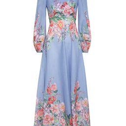 Bellitude Floral Long Dress | ZIMMERMANN (APAC)