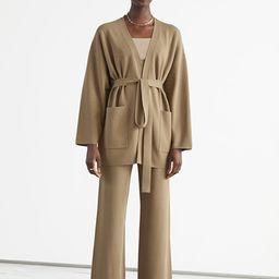 Oversized Boxy Robe Cardigan | & Other Stories