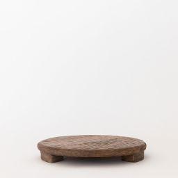 Mango Wood Carved Pedestal   McGee & Co.