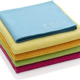 E-Cloth Starter Pack, Microfiber Cleaning Cloths, 5 Cloth Set, Assorted Colors   Amazon (US)