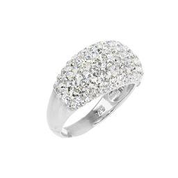 Swarovski Dome Crystal Ring   Roma Designer Jewelry