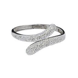 Swarovski Crystal Bangle Bracelet   Roma Designer Jewelry