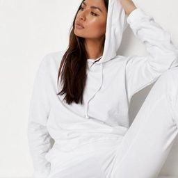 White Hoodie And Joggers Co Ord Set | Missguided (US & CA)