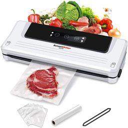 Food Saver Vacuum Sealer Machine For Food, Vaccume Sealer Machine With Vaccume Sealer Machine Kit... | Amazon (US)