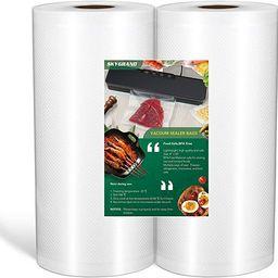 SKYGRAND Vacuum Sealer Bags For Freezer Storage Machine Bags For Food Saver, BPA Free Heavy Duty ... | Amazon (US)