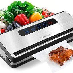 Vacuum Sealer Machine, Toyuugo Upgraded Automatic Food Sealer Saver Vacuum Packing Machine with D... | Amazon (US)