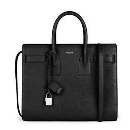 Saint Laurent Women's Small Sac De Jour Leather Satchel - Black   Saks Fifth Avenue