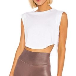 alo Echo Tee in White from Revolve.com   Revolve Clothing (Global)