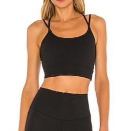 Varley Frances Sports Bra in Black from Revolve.com   Revolve Clothing (Global)