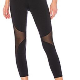 alo High Waist Coast Capri Legging in Black from Revolve.com   Revolve Clothing (Global)