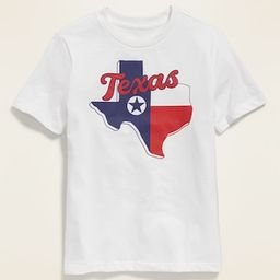 Texas Graphic Soft-Washed Tee for Boys | Old Navy (US)