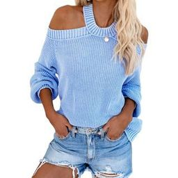 Cold Shoulder Cutout Sweater | YesStyle Global