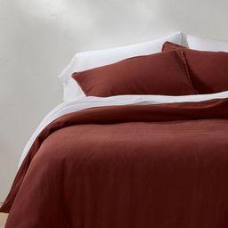 Heavyweight Linen Blend Duvet & Pillow Sham Set - Casaluna™ | Target