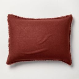 Heavyweight Linen Blend Pillow Sham - Casaluna™ | Target