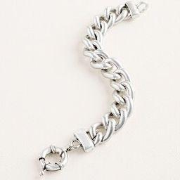 Silvertone Status Cuff Bracelet | Chico's