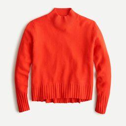 Cashmere mockneck sweater | J.Crew US