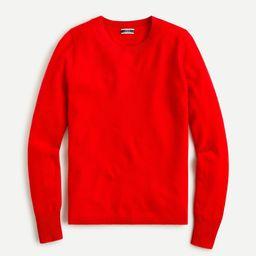 Cashmere crewneck sweater | J.Crew US