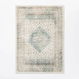 Woven Diamond Persian Rug Neutral - Threshold™ designed with Studio McGee | Target