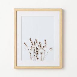 """16"""" x 20"""" Wildflower Framed Under Glass - Threshold™ designed with Studio McGee 