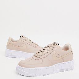 Nike Air Force Pixel sneakers in beige | ASOS (Global)