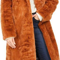 Avec Les Filles Bunny Faux Fur Coat | Amazon (US)