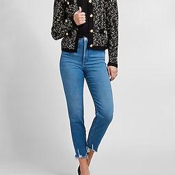Novelty Button Sweater Jacket   Express
