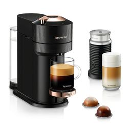 Vertuo Next Premium Coffee and Espresso Maker by DeLonghi with Aeroccino Milk Frother, Black Rose... | Bloomingdale's (US)