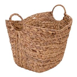 Household Essentials® Water Hyacinth Wicker Basket with Handles | buybuy BABY | buybuy BABY